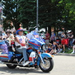Motorcycle Parade Let Freedom Ring