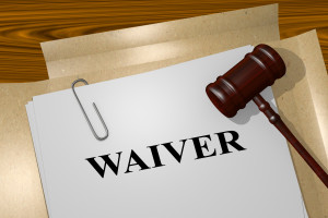 Waiver legal concept